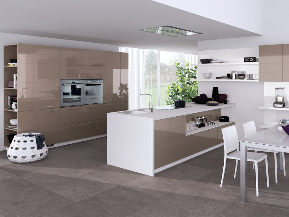 Kitchen 4_khaki kitchen with island