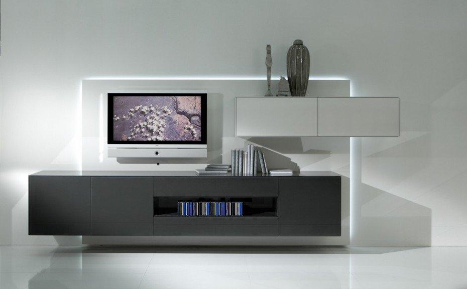 TV unit in Dark Grey finish