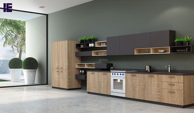 Handles Easyline Wood Kitchen London