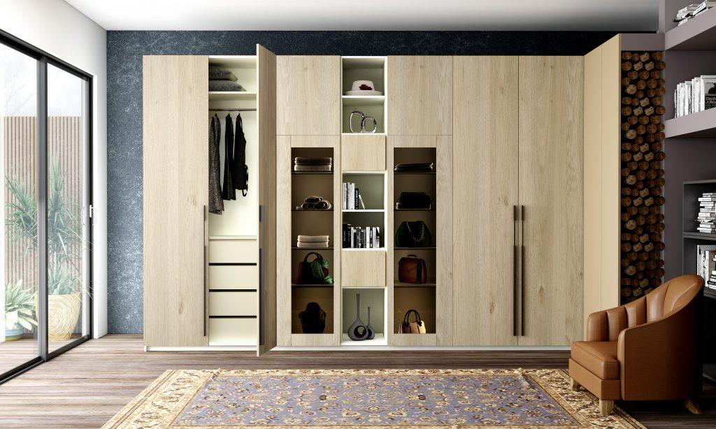 Hinged Door Wardrobe Storage Solution