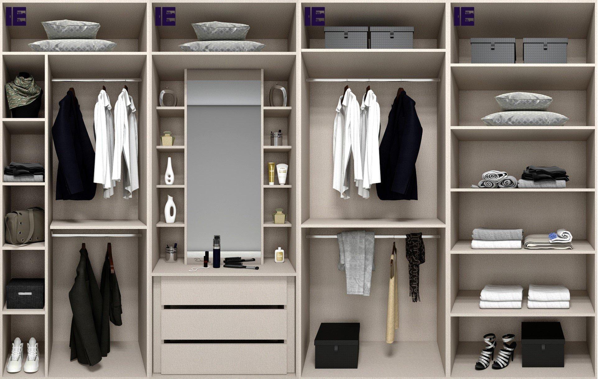 Wooden Wardrobe Internals