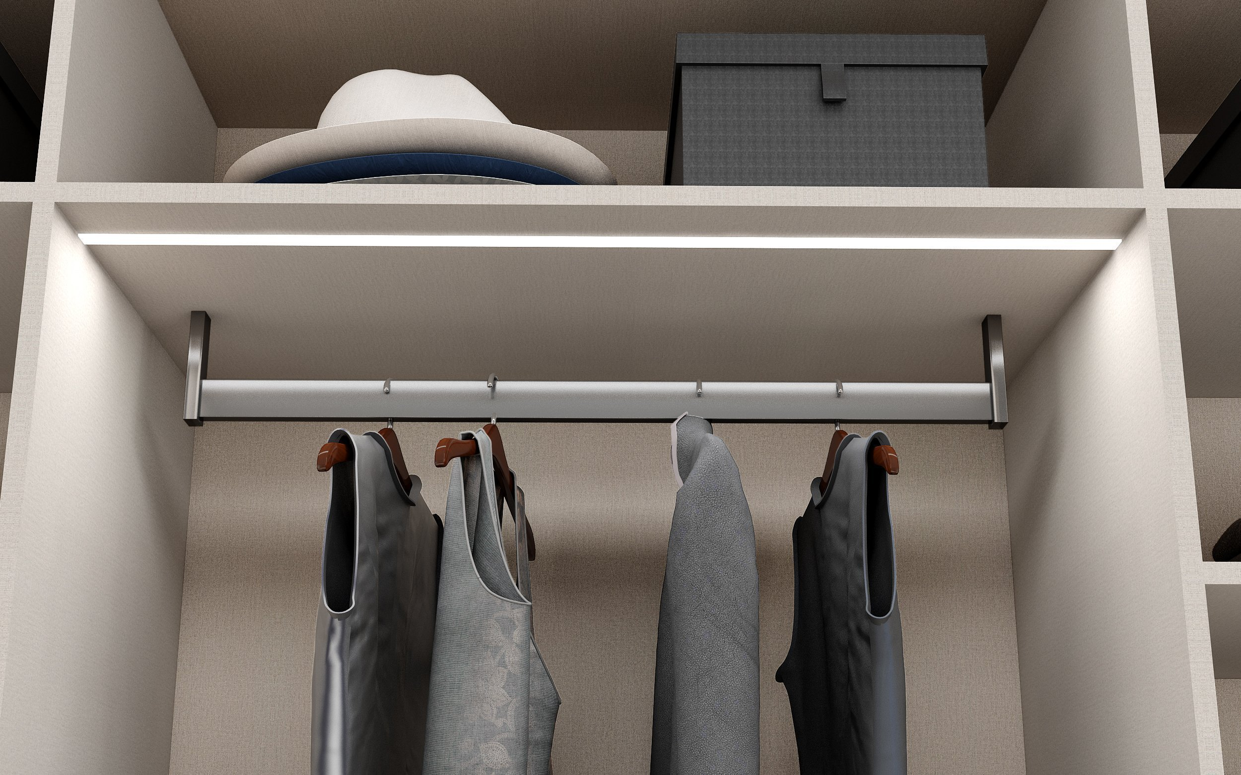 Fitted Wardrobe for Trousers and Shoe Racks