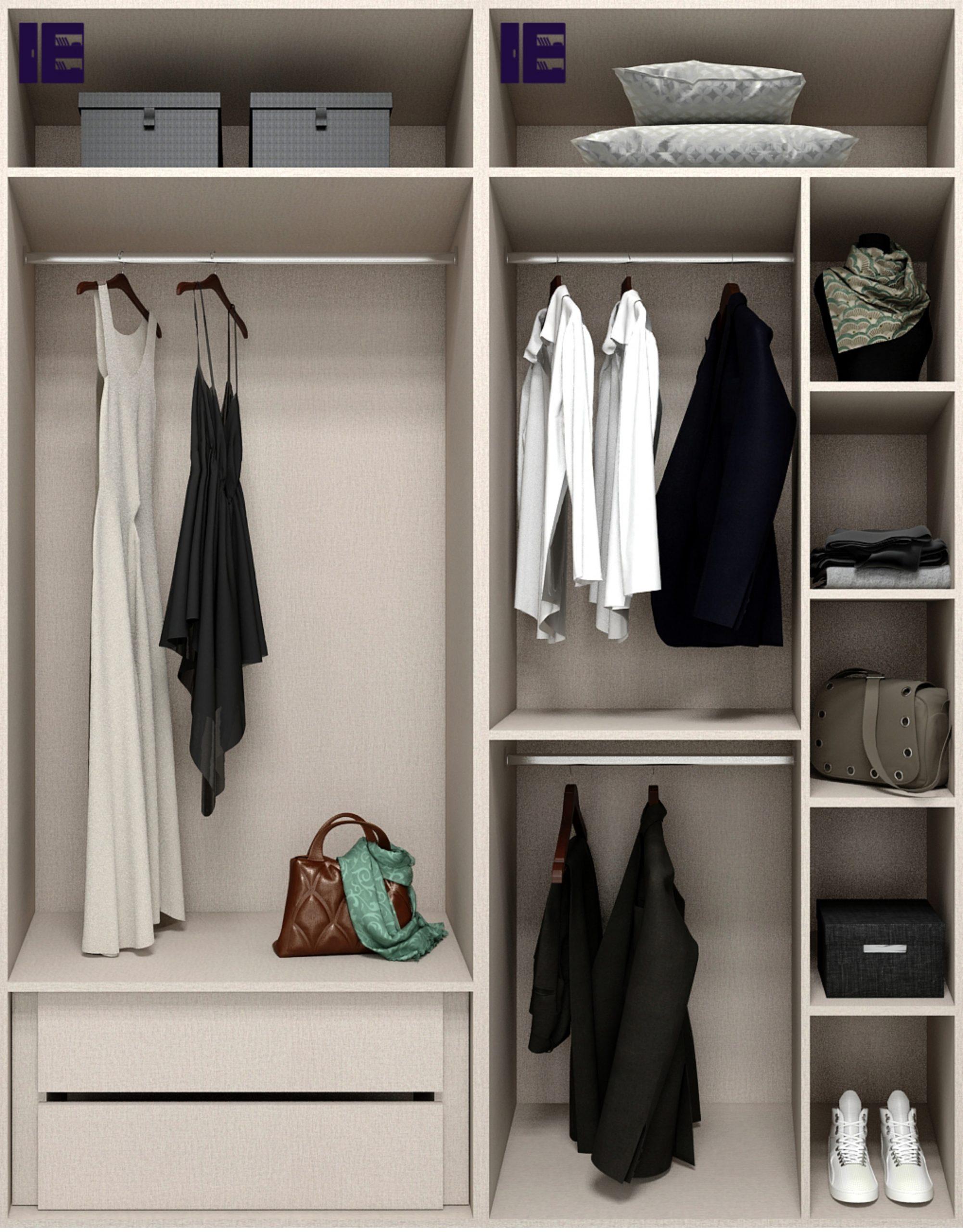 2m Wardrobe Internals