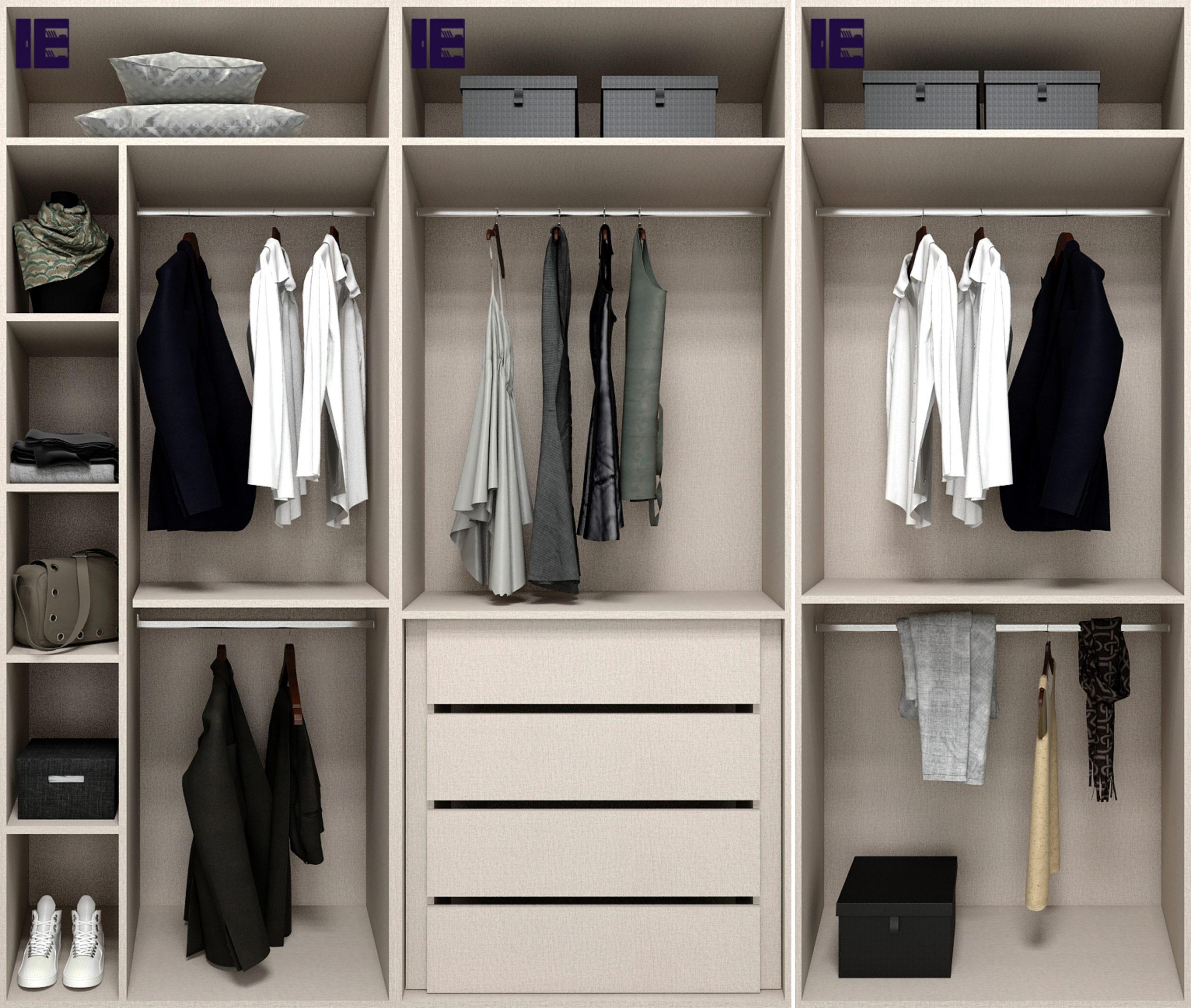 Wardrobe Internals for 3m Wardrobe