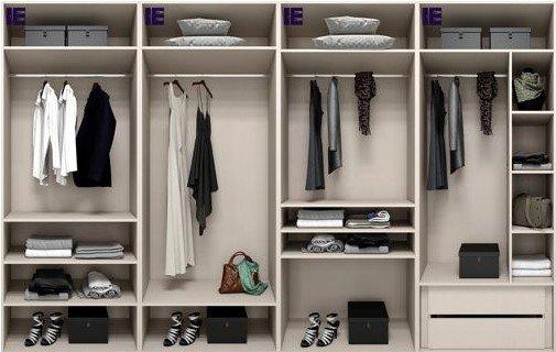 Wardrobe Internals for 4m Wardrobe