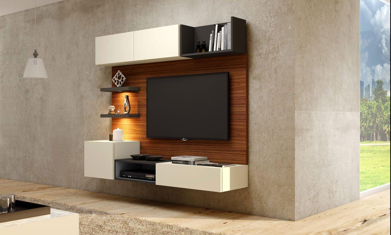 Wall Mounted TV Storage units