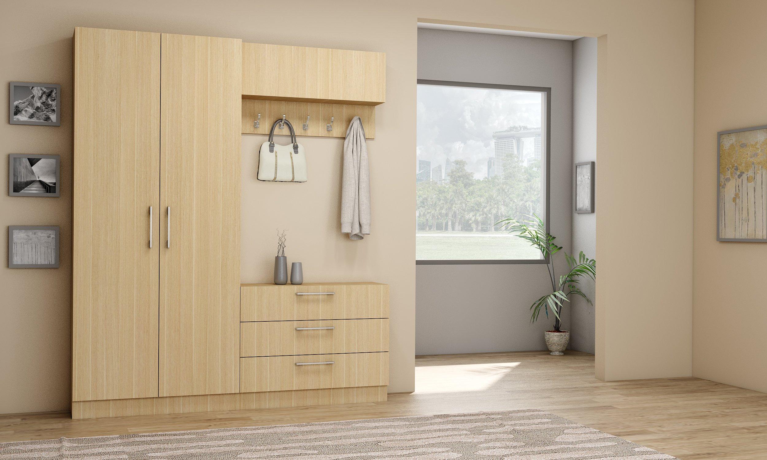 Hallway Cabinets in Kaisersberg Oak