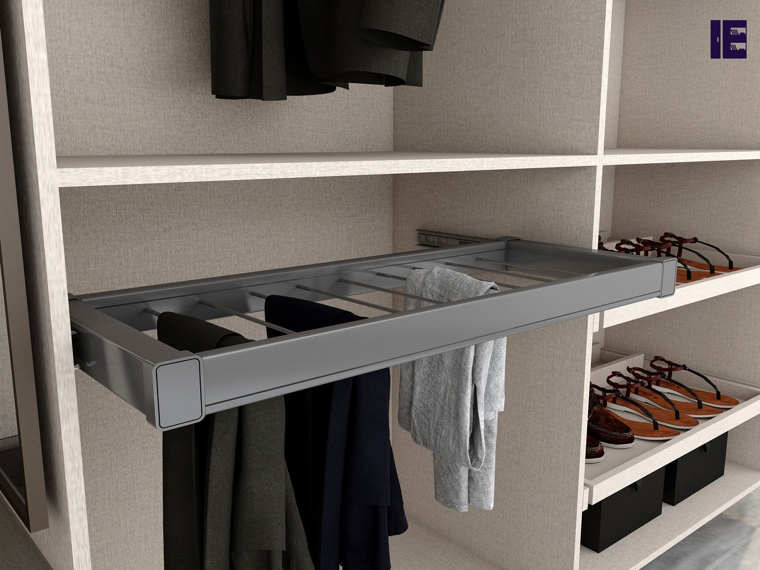 Trouser Pullout Wardrobe Accessories