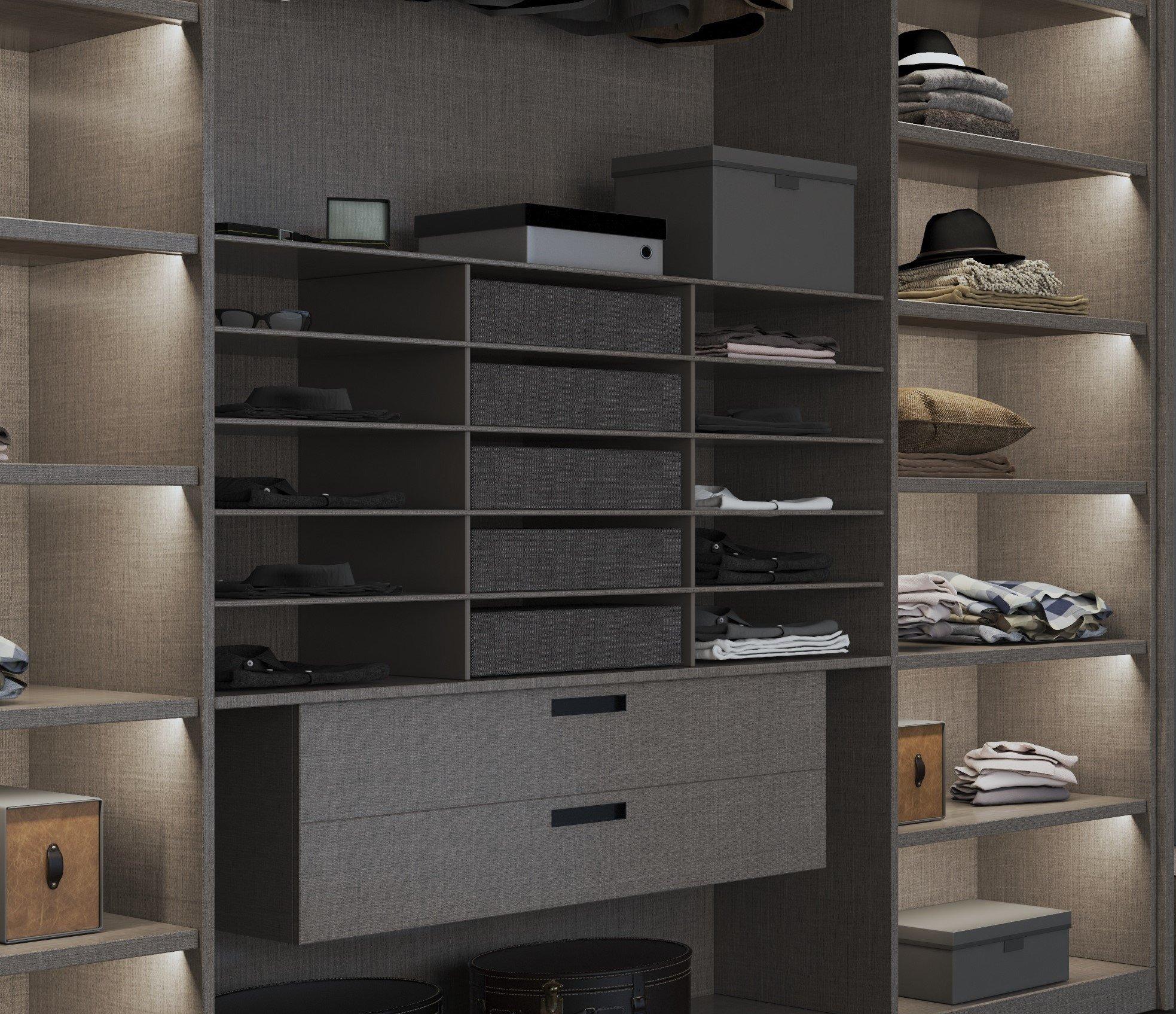 Walk-in Wardrobe Storage