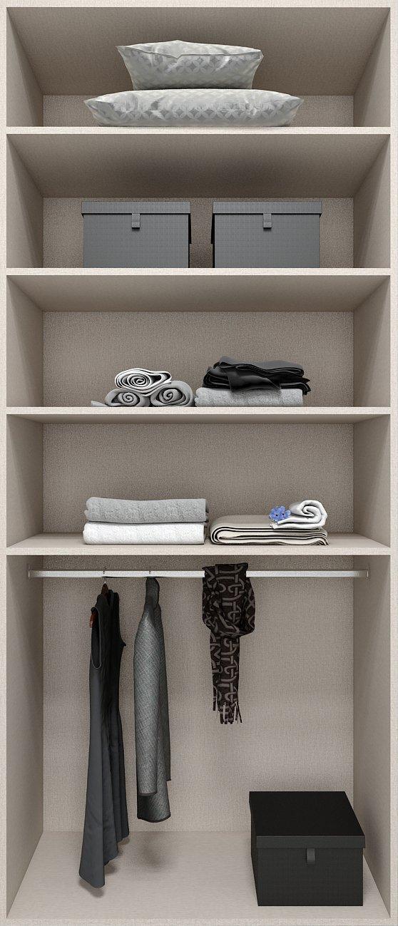 Fitted Internal Wardrobe storage